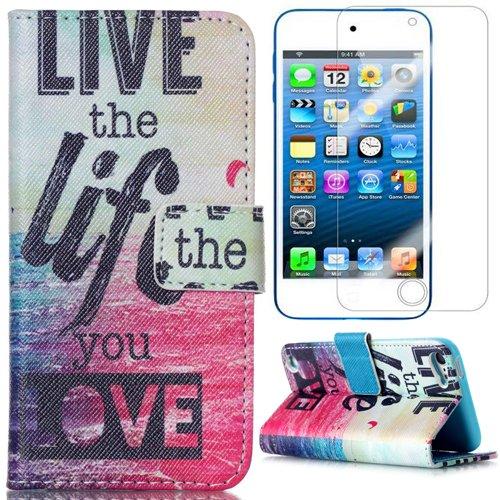 semoss-set-2-in-1-composto-live-the-life-you-love-custodia-strass-in-pelle-per-apple-ipod-touch-5g-i