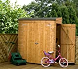 Pent Shiplap Storage Shed with Side Door