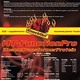 "MT-FunctionProtein - Muscle Transformer Protein - Mehrkomponenten Eiwei�, Vanille, 1000g Beutelvon ""Knock Out Nutrition"""