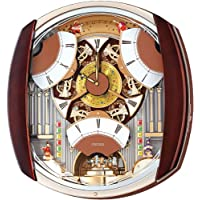Seiko QXM450BRH 12 Rhythm Melodies In Motion Clock