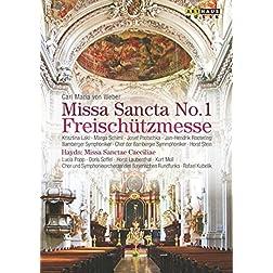 Carl Maria von Weber: Missa Sancta No. 1 in E flat; Joseph Haydn: Missa Sanctae Caeciliae