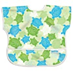 Bumkins Waterproof Junior Bib, Green...