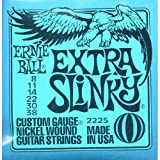 Ernie Ball: Extra Slinky Guitar String Set. For Electric Guitar
