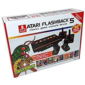 Atari flashback 5 classic game console deluxe - Atari flashback classic game console game list ...