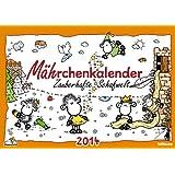 sheepworld Monatsplaner 2014: Mährchenkalender. Zauberhafte Schafwelt