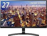 LG 27UD68-P IPSディスプレイ モニター27インチ 4K/ブラック/AH-IPS非光沢/HDMI2.0準拠