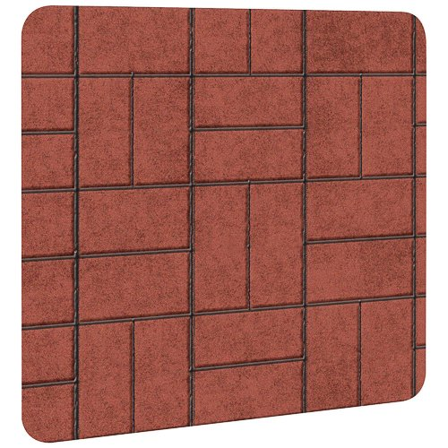 "Imperial Manufacturing Type 2 Stove Board 28 "" X 32 "" Brick back-272188"