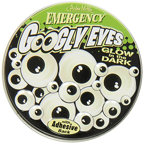 Accoutrements Emergency Glow In The Dark Googly Eyes front-1002877
