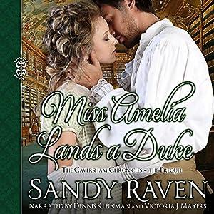 Miss Amelia Lands a Duke Audiobook