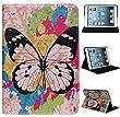 Elegant Multi-Function Schutzh�lle Schutzh�lle H�lle Tasche Lederh�lle f�r Apple iPad Mini, Leather Case Cover Stand H�lle KXC0027 black-butterfly