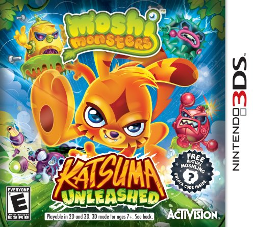 Moshi Monsters: Katsuma Unleashed - Nintendo 3DS - 1