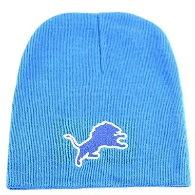 Detroit Lions Classic Knit Beanie (Lions Blue)