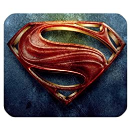 Tapis de Souris Superman Design pour PC Portable Gel Mouse Mat Gel Mouse Pad