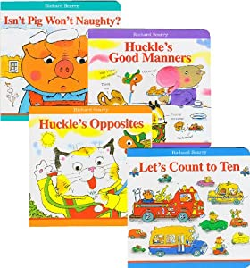 Richard Scarry Board Book Collection (Set of 4)