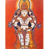 "Dolls Of India ""Mahavishnu"" Reprint On Paper - Unframed (38.10 X 29.21 Centimeters)"