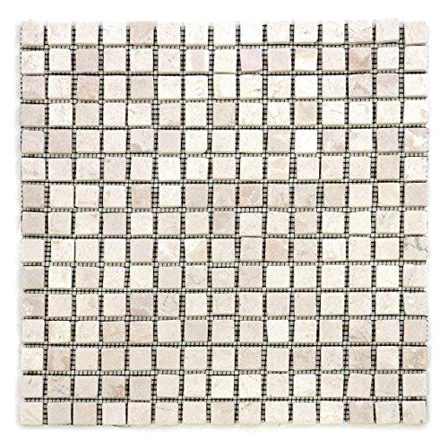 divero-marmor-11-matten-30-x-30cm-je-15-x-15-steine-naturstein-mosaik-fliesen-fur-wand-boden-quadrat