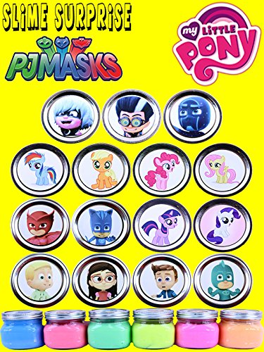 Pj Masks My Little Pony Slime Surprise Toys - Disney Jr Shopkins Season 5 Disney Lego Tsum Tsum