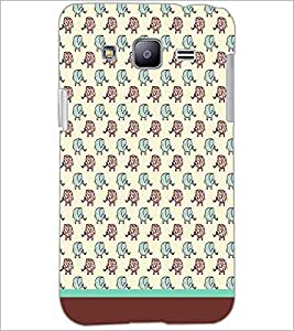 PrintDhaba Elephant pattern D-1608 Back Case Cover for SAMSUNG GALAXY J2 (Multi-Coloured)