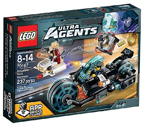 LEGO Ultra Agents - Invizable's Goldraub - 70167