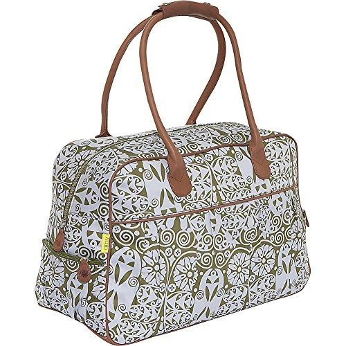 amy-butler-dream-traveler-carry-on-bagtemple-doors-tobaccoone-size