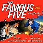 Famous Five: 'Five Go Adventuring Again' & 'Five Go to Demons Rocks' Hörbuch von Enid Blyton Gesprochen von:  full cast