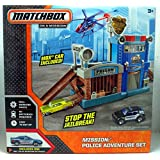 Amazon Com Matchbox Cliff Hanger Shark Escape Playset