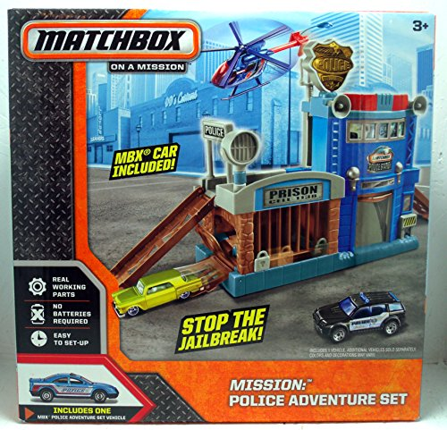 Matchbox On A Mission: Police Adventure Set - 1
