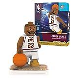OYO Sports NBA Minifigure Cleveland Cavaliers LeBron James (Color: Black, Tamaño: Small)