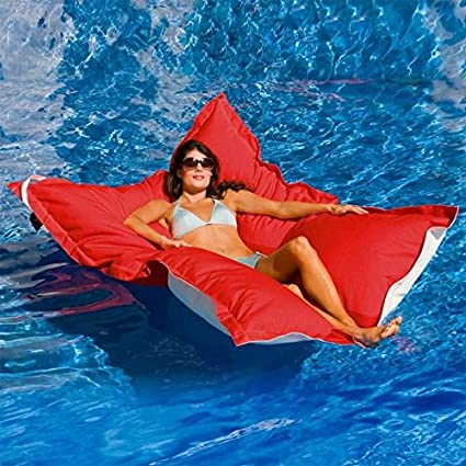 Love this oversized pool float