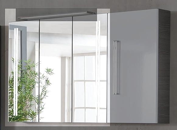 80x 68cm armadio Lugano/Como colore: pino antracite
