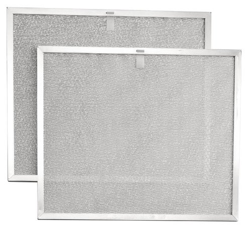 Broan BPS2FA30 Replacement Filters for 30-Inch QS2 and WS2 Range Hoods, Aluminum, 2-Pack (Allure Hood Range compare prices)