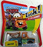 Disney / Pixar Cars Movie 1:55 Die Cast Car With Lenticular Eyes Mater
