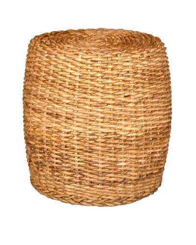 Jeffan Drum Abaca Side Table, Natural