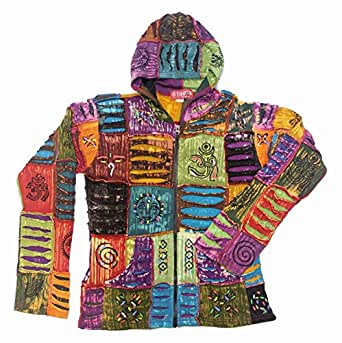Patchwork jackets from nepal earthquake