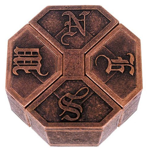 NEWS Hanayama Cast Metal Brain Teaser Puzzle - 1