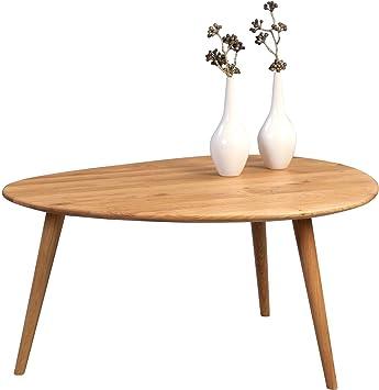 HomeTrends4You 245622 Couchtisch, Holz, wildeiche, 90 x 72 x 43 cm