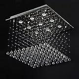 """Deckenleuchte H�ngelampe mit Kristallen 50x50x60cm 9xGU10 max 40Wvon """"Jago"""""""
