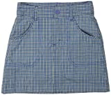 Columbia Girl's Silver Ridge II Skort - Light Grape Plaid, Small