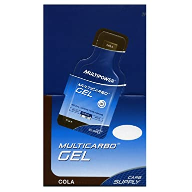 MULTIPOWER MULTICARBO ENERGY GEL 24 X 40 GR Cola