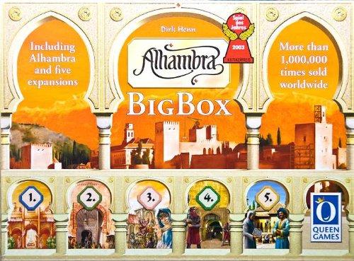 Asmodee - QGAL08 - Jeu de Stratégie - Alhambra Big Box