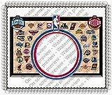 1/4 Sheet Cake - NBA All Teams - Edible Photo Frame Cake Topper - D18734