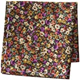 Scott James Mens Floral Print Pocket Square