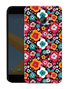 """Humor Gang Valley Of Flowers Printed Designer Mobile Back Cover For """"HTC 10"""" (3D, Matte, Premium Quality Snap On Case)"""