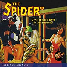 Spider #38, November 1936 Audiobook by Grant Stockbridge Narrated by Nick Santa Maria