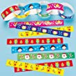 Festive Paper Chains - Pack of 240