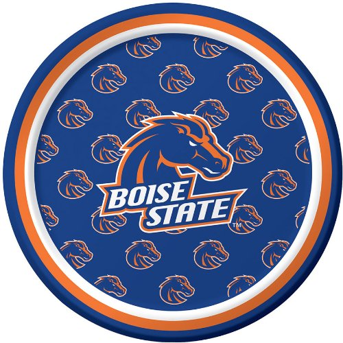 Creative Converting 8 Count Boise State Broncos Paper Dessert Plates