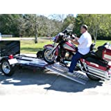 Aluminum Ramp 4 ft. USA - Motorcycles Onto Trailers - 5244MCDR Ramp