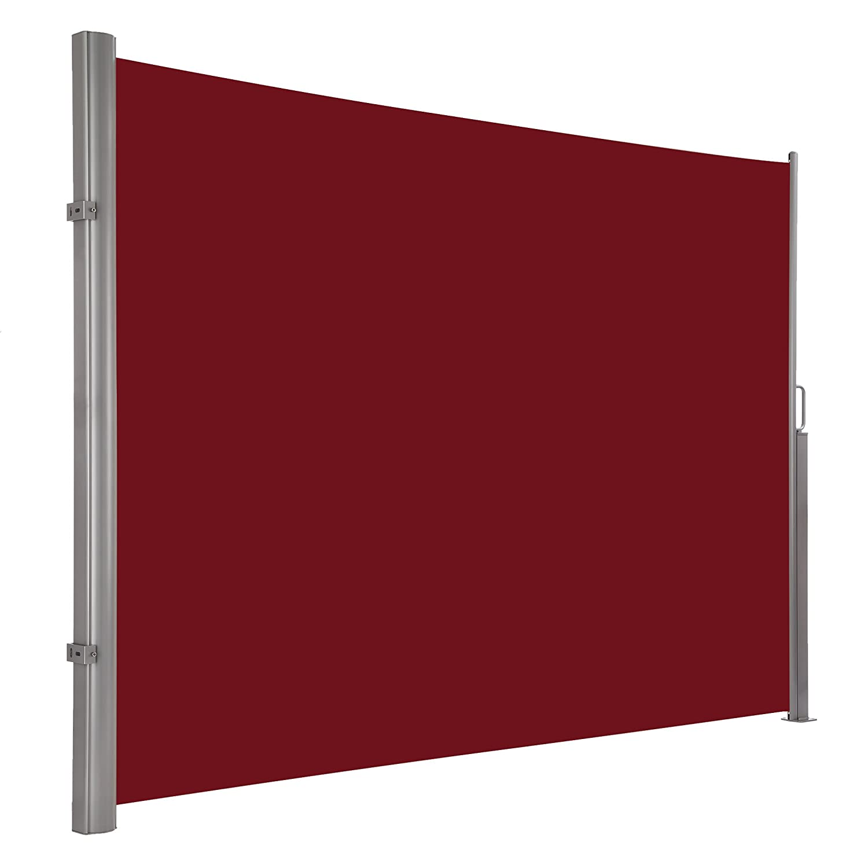 Ultranatura Seitenmarkise Maui – Seitenrolle als Sichtschutz zur Vertikalbefestigung – 300 x 180 cm, rot günstig kaufen