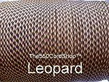550 Paracord 100Ft ( Color:Leopard Leopard) by The550CordShop