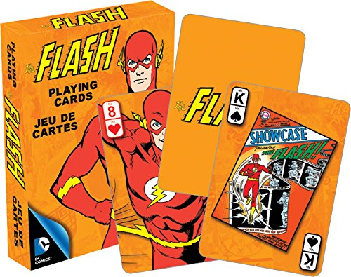Aquarius DC Flash Retro Playing Cards